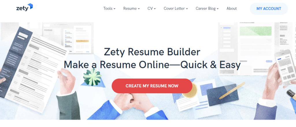 zety resume