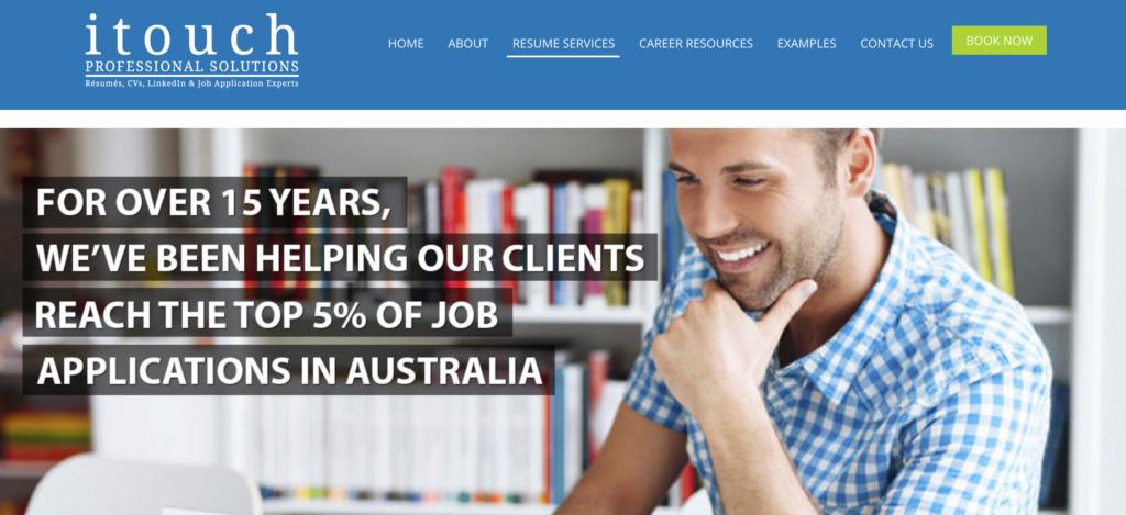resume solution website